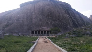 Rock, sculptures and caves