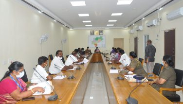 Adi Dravidar and Tribal Welfare Monitoring Committee Members Consultative Meeting 30/09/2020