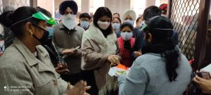 Corona vaccination campaign started in Kapurthala by Honourable Deputy commissioner KapurthalaCorona vaccination campaign started in Kapurthala by Honourable Deputy commissioner Kapurthala2