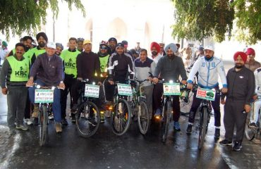 Awareness on Cycling Rally
