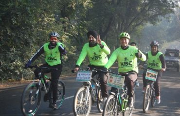 Cycling Rally by staff of DC officeCycling Club