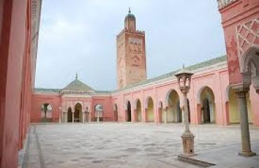 Inside View of Moorish Mosque Kapurthala
