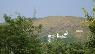 Hill view of Vaishno Devi Mandir