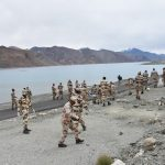Activity at Pangong