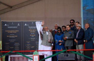 Hon'ble PM at Jivetsal Leh