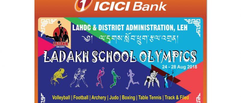 Ladakh School Olympics - 2018