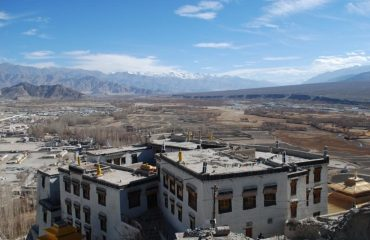 View from Spituk Monastery, Leh