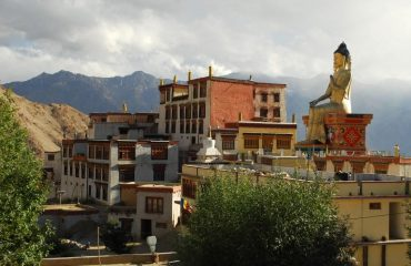 Magnificient view of Likir Chamba, Leh