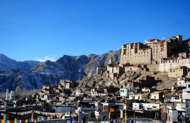 A close view of Leh Palace