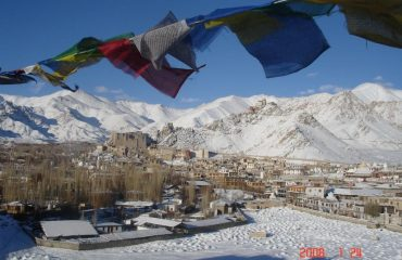 Leh in winter
