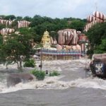 Edupayala Temple During Rainy Season