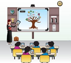 digital class rooms Infrastructure
