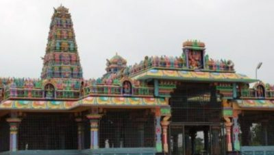 Sri Chamundeshwari Devi temple view