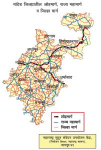 NANDED_MAP_ROAD