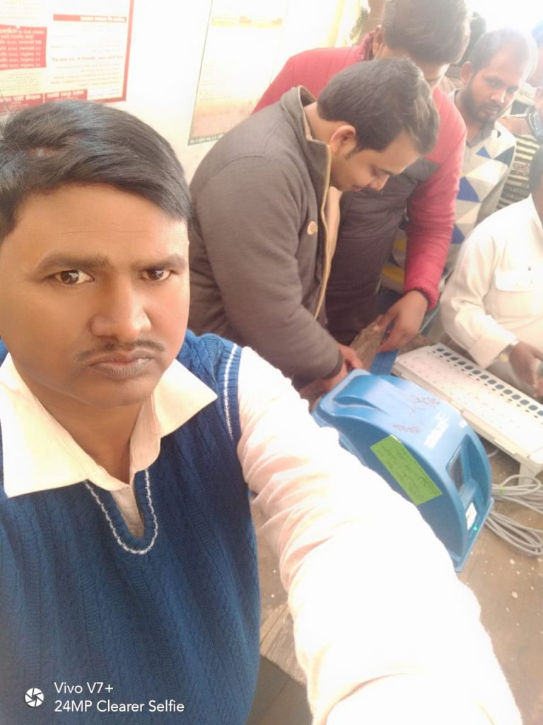 Matdata jagrukta Abhiyan at Rasra Tehil-1 on 24.12.2018..