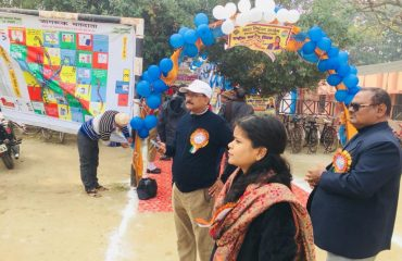 In Ballia, National Electoral Day was celebrated on 25.01.2019..