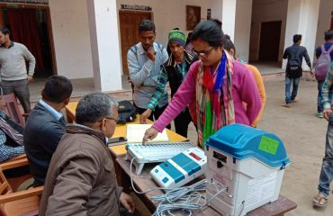 In District-Ballia, on 28.01.2019 EVM/VVPAT awareness program was concluded..