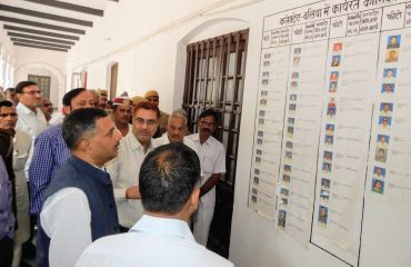 Collectorate inspection