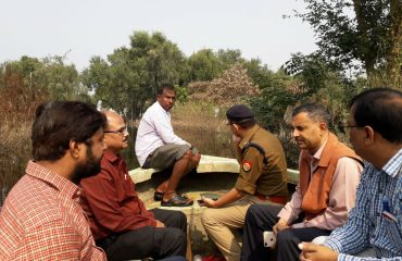JCU inspection by DM sir & SP sir.