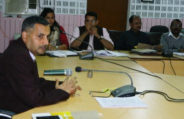District Magistrate Shrihari Pratap Shahi, while meeting the assessment of the center in view of teacher eligibility test and board examination