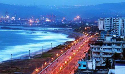 RK Beach Night View