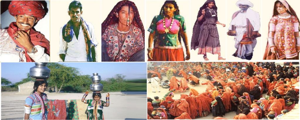 People and Dresses of Kachchh