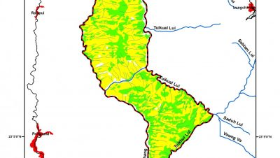 Map of Khawnglung