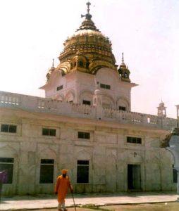 Shri Darbar Sahib Gurdwara (SHOWING CANOPY)