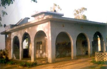 Gurudwara at village Nangal