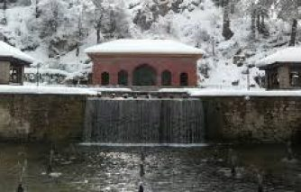 Achabal in winter