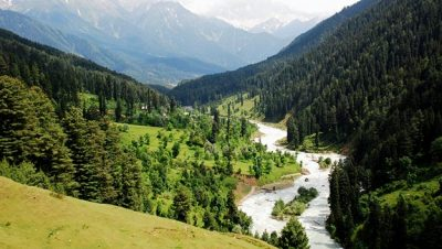 Lidder Valley Pahalgam View