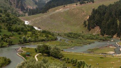 Betab River Pahalgam View