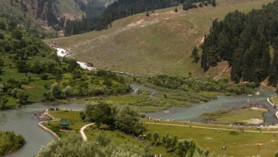 Betab River Pahalgam View
