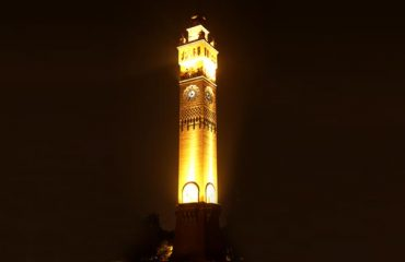 Clock tower Night View