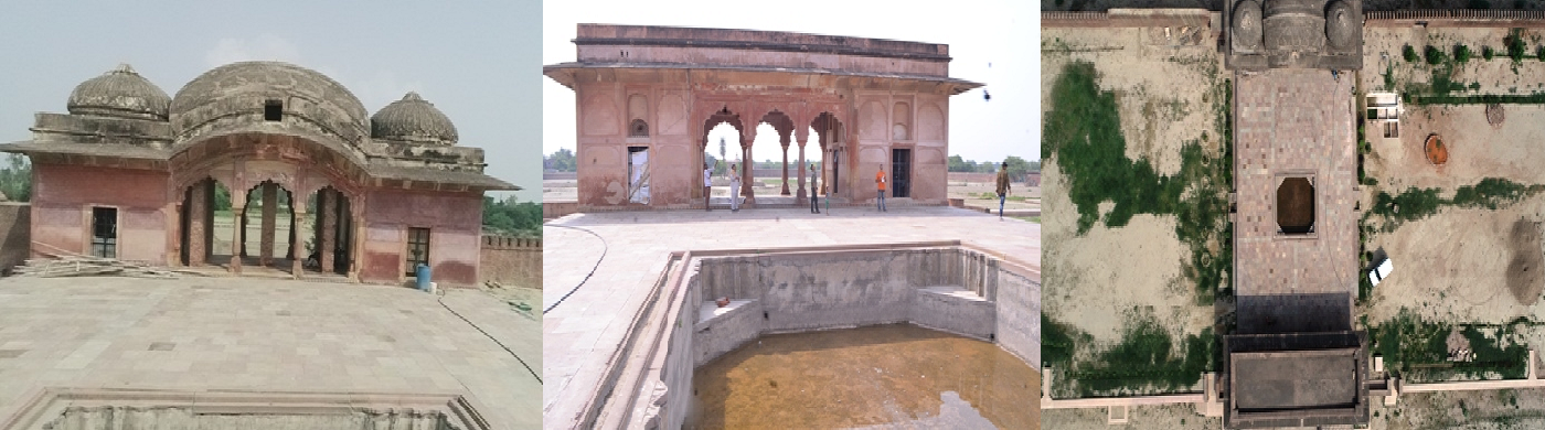 Historical Pond of Khajuha,fatehpur