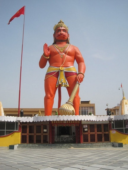 Statue-of-Hanuman-Ji-Front-View
