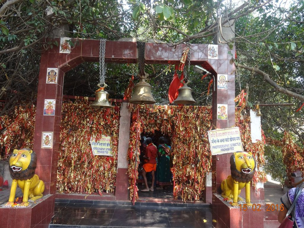 Maa Ghanteswari Temple front Gate
