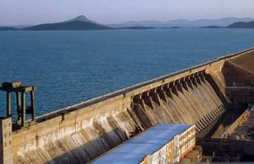 Hirakud Dam View From Jawahar Minar
