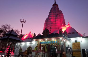 Samaleswari Temple Night View