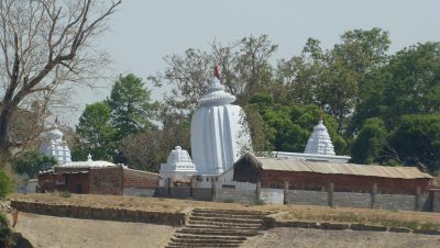 Huma Temple River side view