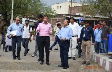 Nagar Nigam Inspection