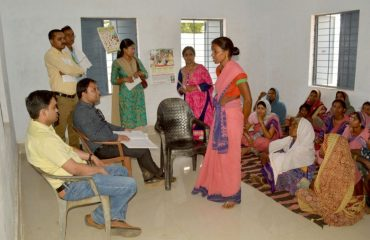 Aanganwadi inspection