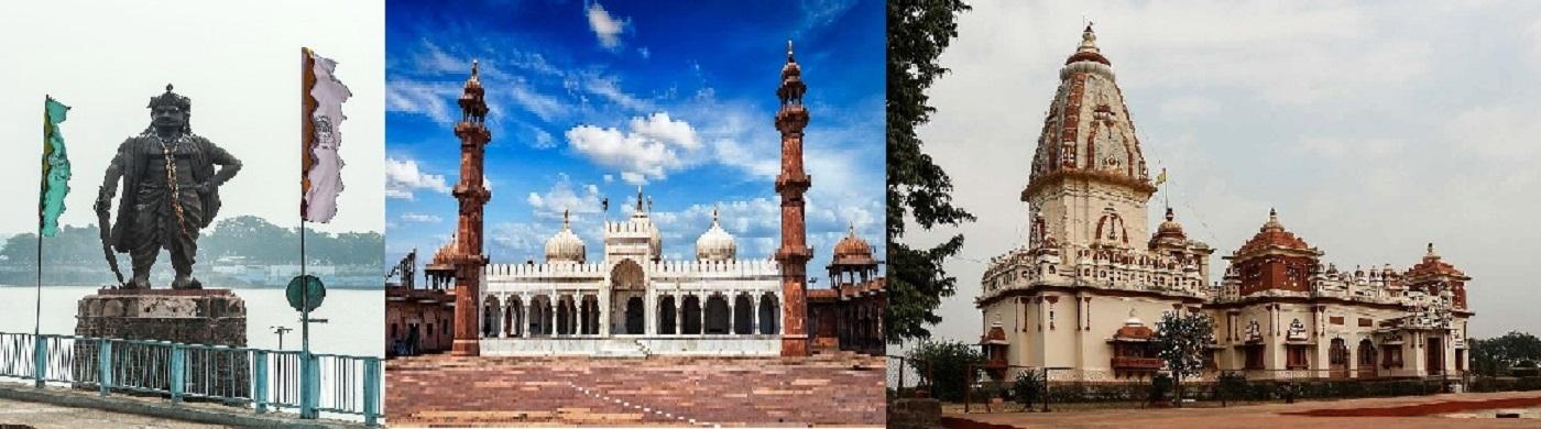 राजा भोज, ताज-उल-मस्जिद, बिड़ला मंदिर