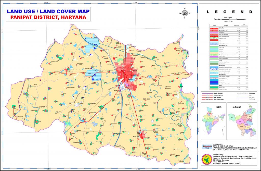 Haryana India Map.Maps Panipat Haryana