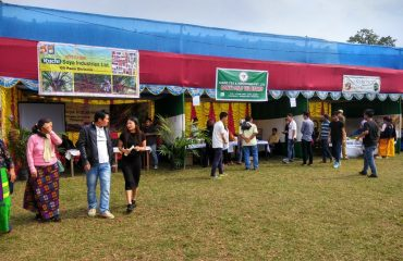 Stall of the Soya Industries Ltd at Arunachal Agi Expo 2018 at Pasighat