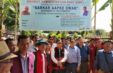 Sarkar Aap ke Dwar (SAD) launch event by Local MLA and District Administration at Kiyat village