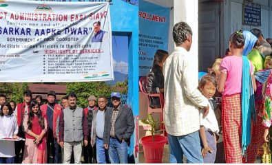 SAD Event at Remi Village of Pasighat Town