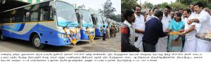 New Buses services Inauguration