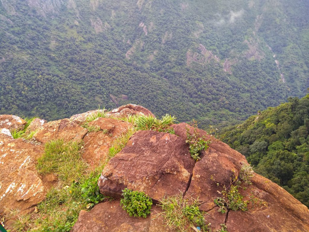 View Point in Dolphin's Nose Coonoor
