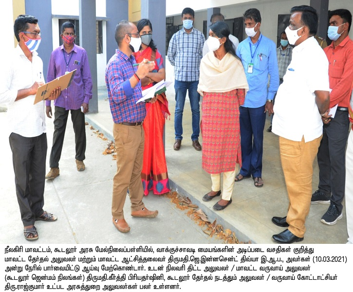 Booth Inspection Gudalur